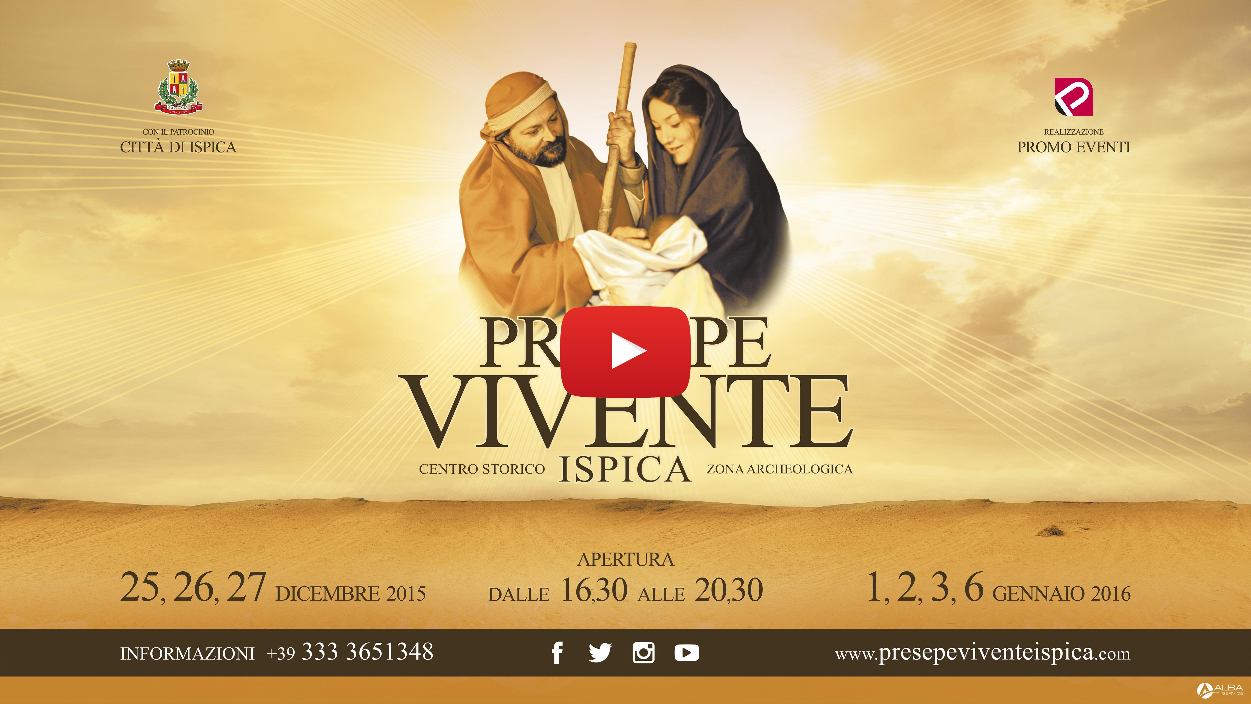 spot Presepe Vivente Ispica
